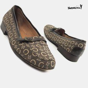 Celine Shoes - Celine Vintage Macadam Flat Shoes